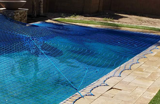 Plasa de protectie piscina